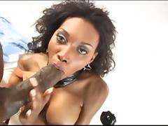 Hairy Black Cunt Used BBC porn video