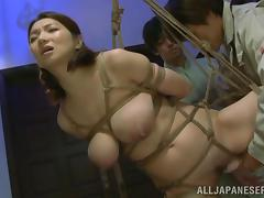 Japanese style BDSM with a sex slave Mio Takahashi porn video