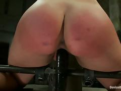 Red Butt Cheeks for Chloe Camilla and Torturing and Toying for Her Pussy