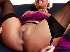 Mature british stockings fingered