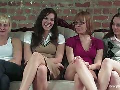 Socks, Anal, Fingering, Glasses, Lesbian, Pussy