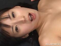 Teacher, Asian, Close Up, Couple, Cum in Mouth, Cumshot