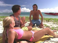 All, Beach, Big Tits, Bikini, Blowjob, Boobs