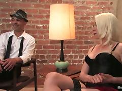 Cock Torture in Bondage Femdom Video with Lorelei Lee