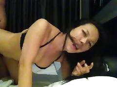 Chinese Ah lian horny, and suck my cock