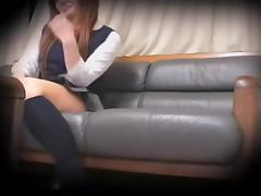 Japanese teen slut nailed by a fat guy on hidden camera
