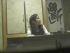 Passionate girl caught on hidden cam masturbation scenes