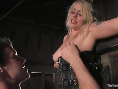 Lorelei Lee gets bounded and toyed with a vibrator
