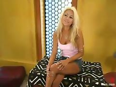 Hot Blonde with Big Nipples Stacy Burke Dominated for Sex