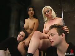Mistress, BDSM, Bondage, Facesitting, Femdom, Foursome