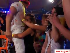 Real party euro teen getting ravaged