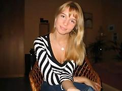 Horny Blonde Amateur Teen