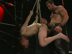 Noah Brooks gets his mouth and ass drilled hard by Spencer Reed