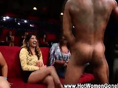 Cfnm interracial blowjob at bachelorette party