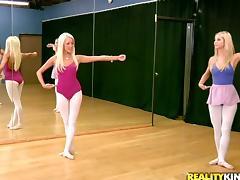 Ballerina, Fingering, Lesbian, Lingerie, Nylon, Pantyhose