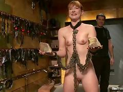 Claire Robbins gets tormented and fucked and enjoys it porn video