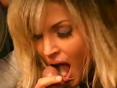 Intense CFNM BJ and handjob while driving