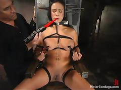 Some weird things are being used to torture Nadia porn video