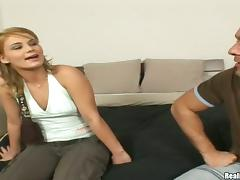 Horny lust Thaylor bends over for a hot doggy style