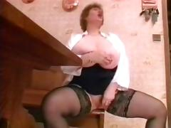 Old Man Fuck Big Tit Wife then Younger Girl porn video