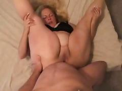 BBW Wife Fucks Anal Deep