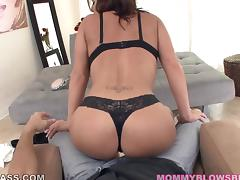 Sexy and charming milf Olivia Sinclair is sucking your fat dick