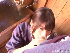 Sex in the sauna with a filthy Japanese girl Rio Ogawa