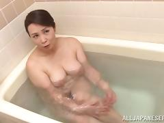 Bathing, Asian, Bath, Bathing, Bathroom, Big Tits