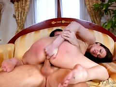 Hot and horny Samantha Ryan is one sexy MILF, as Dane cross finds out as she sucks on his huge dick. Hardcore porn video