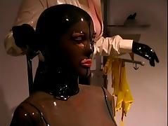 Mistress skintight latex
