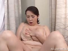 Busty and Chubby Japanese Wife Yuuko Kuremach Having Sex