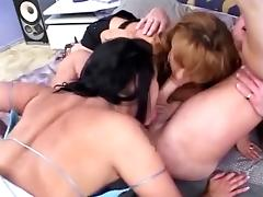 threesome anal Rimjob rimming prostate