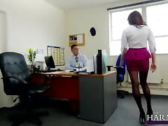 slut sucks her boss