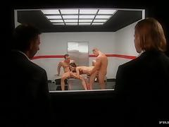 Double penetration interrogations with Cindy Lords