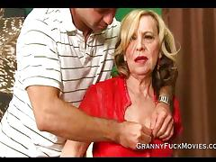 Granny is a experienced cock sucker