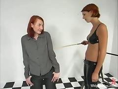 All, BDSM, Femdom, Redhead, Spanking, Tan Lines
