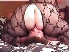Fullbody Fishnet BBW Facesits