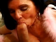 BBW Granny Loves the Cock