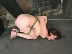 Very amazing BDSM porn set with Lynn Dumaire