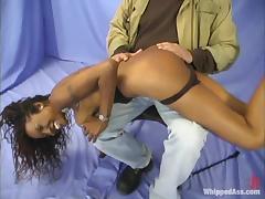 Smoking hot Negroid chick Tierra is unbefitting Kym Wilde