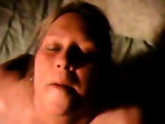 BBW beauteous foodstuffs cum to this cellphone video