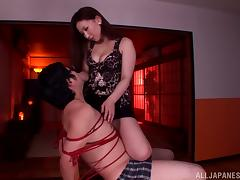 Asian Cowgirl Adores To Driveway Some Stirred Mighty Detect