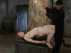 Filial Madison gets her soul tortured approximately clothespins
