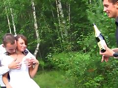 Married, Bride, Drilled, Outdoor, Teen, Wedding