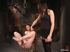 Femdom with Bobbi Starr Pegging and Unbearable Load of shit