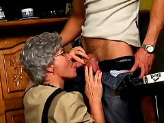 Interesting Bro Fucked Hard Some Granny With Glasses