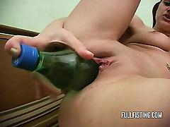 Bottle, Bottle, Fisting, Masturbation, Solo, Teen