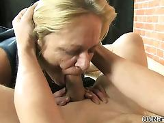 Dirty mature whore gets marketable sucking part3