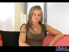 Dominika is hot anent dogtrot with an increment of anent fuck lasting