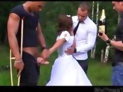 Bride, Amateur, Anal, Banging, Bride, Cum